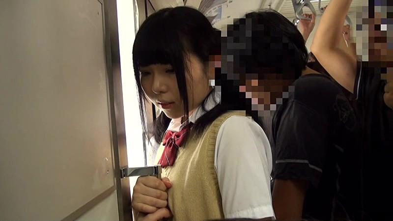 満員電車女子校生ぶっかけ痴●  サンプル画像 1