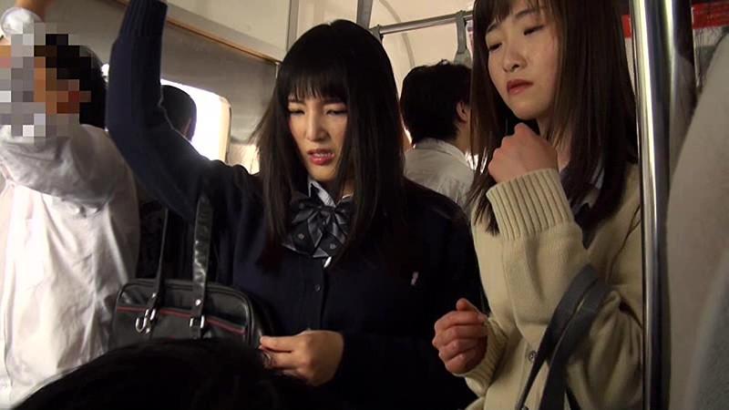 満員電車女子校生ぶっかけ痴●  サンプル画像 19
